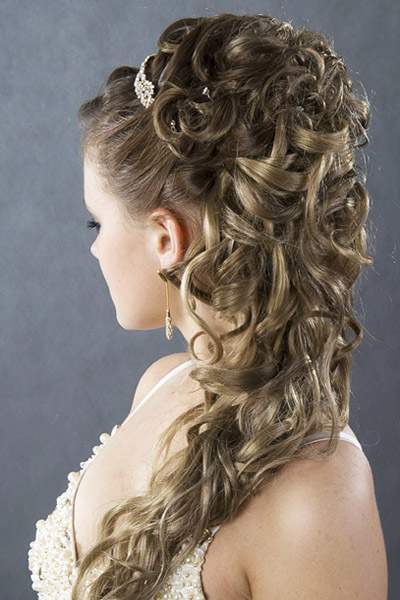 Смотреть причёски на свадьбу