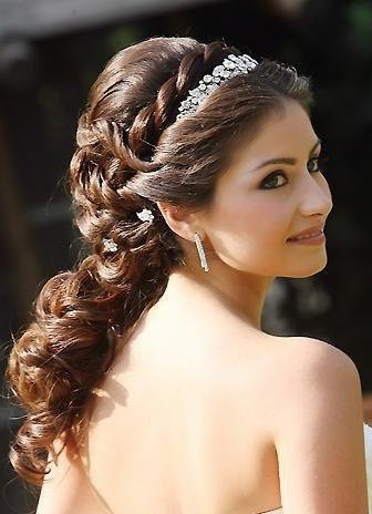 Свадебные причёски казань