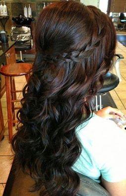Прически на длинные волосы с плетением вечерние
