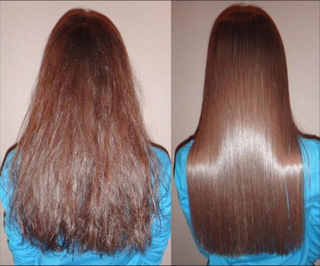 Горячие ножницы на тонкие волосы