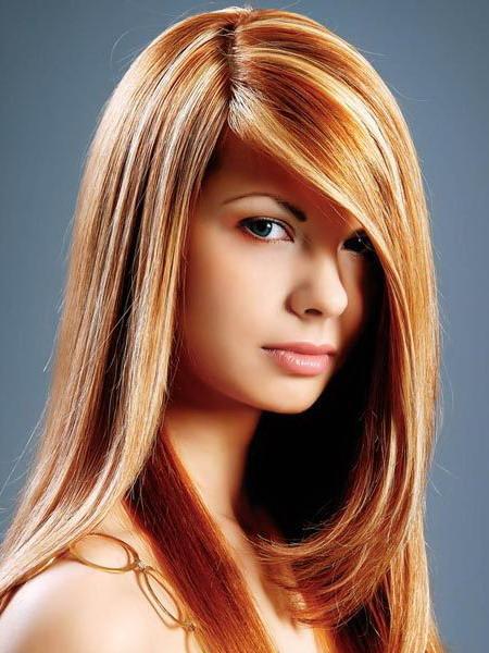 Фото колорирования волос
