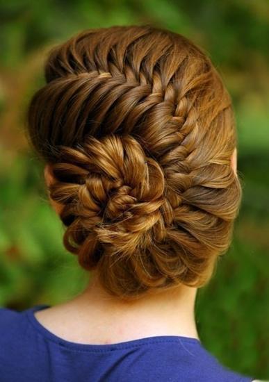 Фото причёсок косички